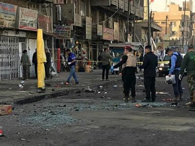 Double Suicide Bombing Baghdad